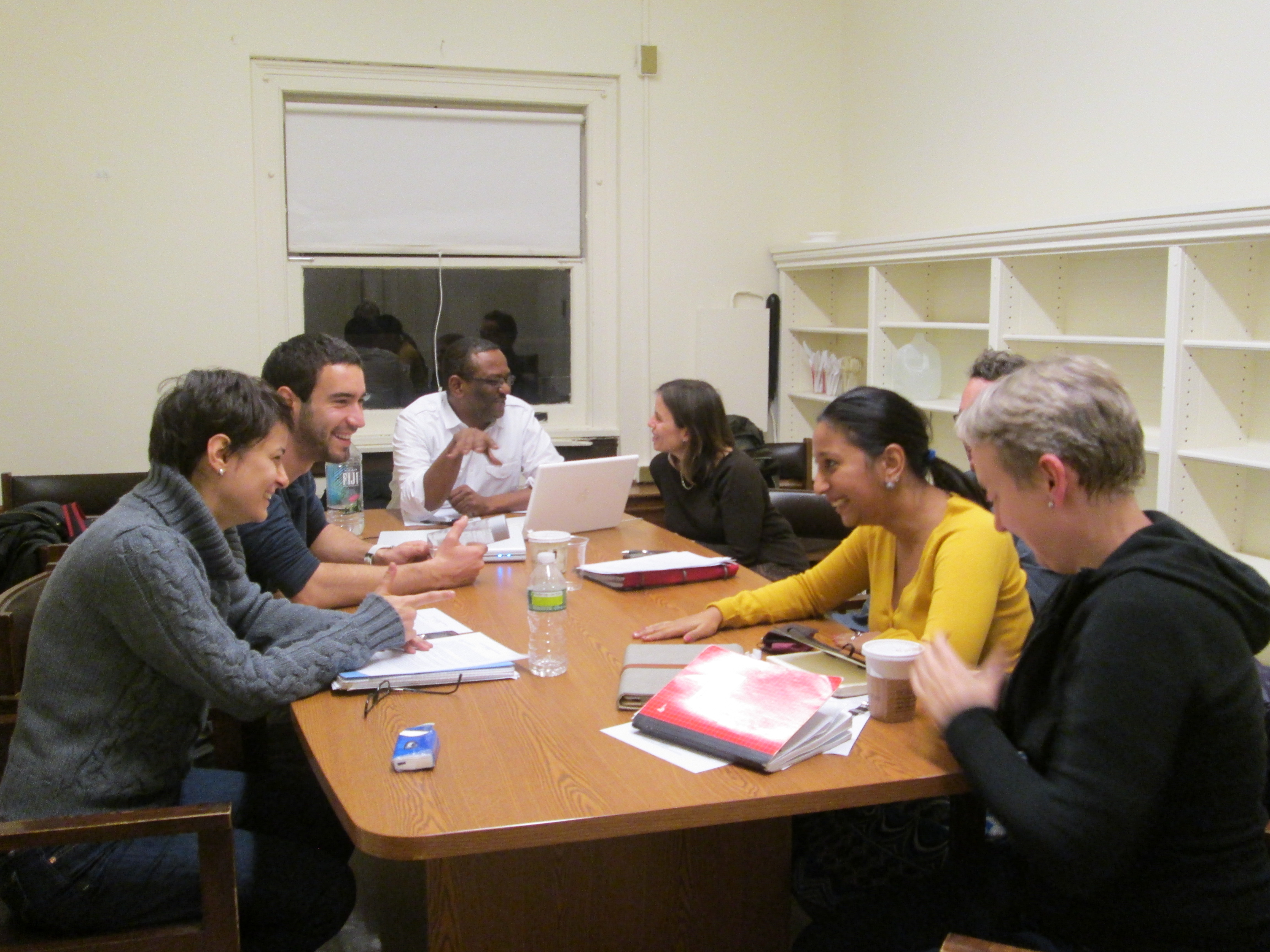 Fellows at the Institute for the Study of Human Rights at Columbia sit down to discuss where their research projects will head next.